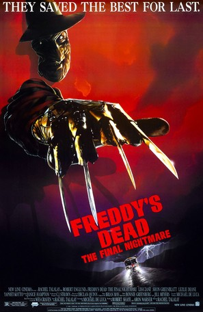 Freddy's Dead: The Final Nightmare - Theatrical movie poster (thumbnail)
