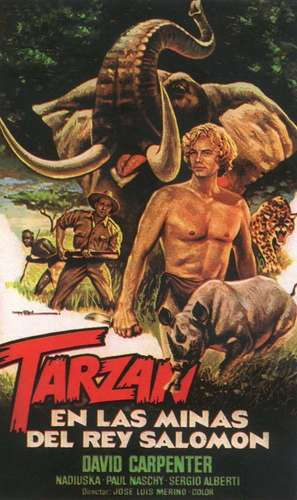 Tarzán en las minas del rey Salomón - Spanish Movie Cover (thumbnail)