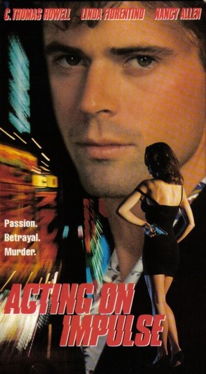 Acting on Impulse - VHS movie cover (thumbnail)