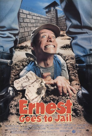 Ernest Goes to Jail - Movie Poster (thumbnail)