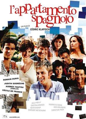 L'auberge espagnole - Italian Movie Poster (thumbnail)