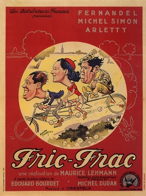 Fric-Frac - French Movie Poster (thumbnail)
