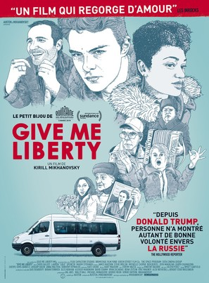 Give Me Liberty - French Movie Poster (thumbnail)