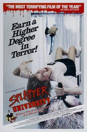 Splatter University - Movie Poster (thumbnail)