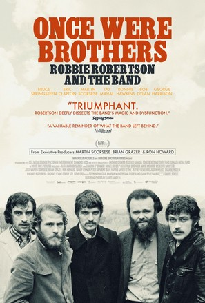 Once Were Brothers: Robbie Robertson and The Band - Movie Poster (thumbnail)