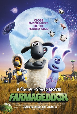 Shaun the Sheep Movie: Farmageddon - British Movie Poster (thumbnail)