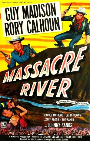 Massacre River - Movie Poster (thumbnail)