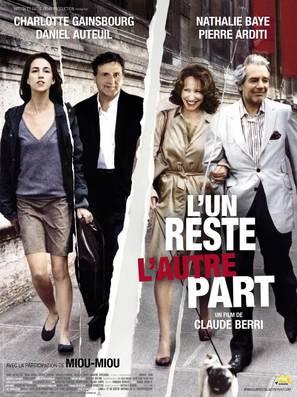 Un reste, l'autre part, L' - French Movie Poster (thumbnail)
