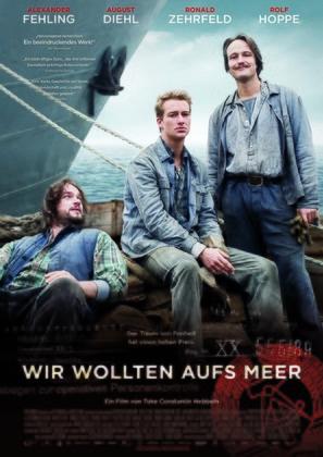 Wir wollten aufs Meer - German Movie Poster (thumbnail)