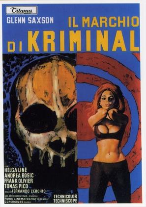 Il marchio di Kriminal - Italian Movie Poster (thumbnail)