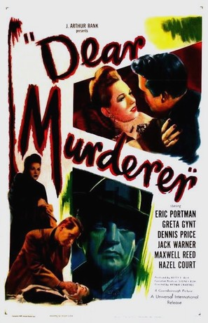 Dear Murderer - Movie Poster (thumbnail)