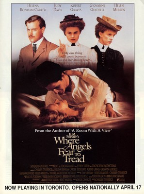 Where Angels Fear to Tread - Canadian Movie Poster (thumbnail)