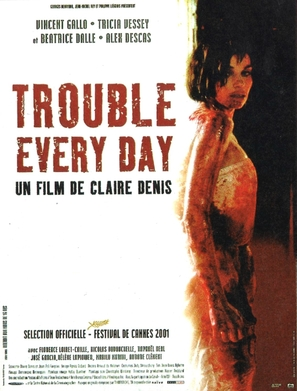 Trouble Every Day - French Movie Poster (thumbnail)