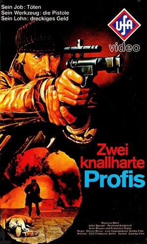 Poliziotto solitudine e rabbia - German VHS movie cover (thumbnail)