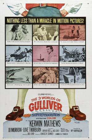 The 3 Worlds of Gulliver - Movie Poster (thumbnail)