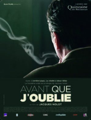 Avant que j'oublie - French poster (thumbnail)