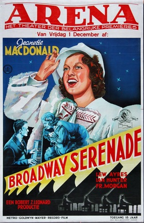 Broadway Serenade - Dutch Movie Poster (thumbnail)