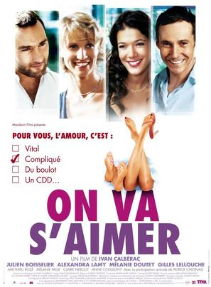 On va s'aimer - French Movie Poster (thumbnail)