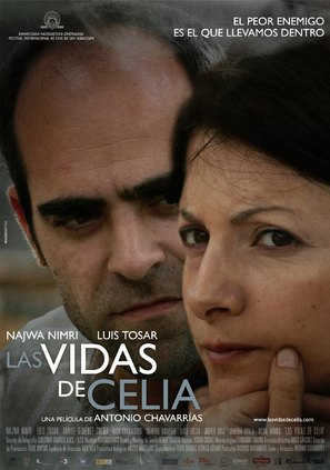 Las vidas de Celia - Spanish Movie Poster (thumbnail)
