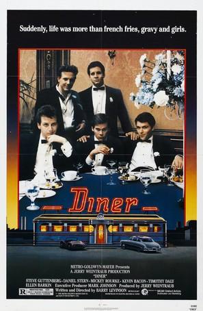 Diner - Movie Poster (thumbnail)