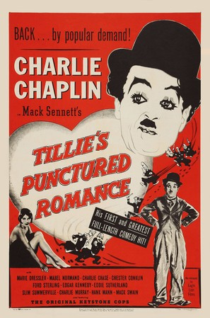 Tillie's Punctured Romance - Re-release movie poster (thumbnail)