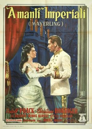Kronprinz Rudolfs letzte Liebe - Italian Movie Poster (thumbnail)