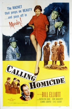 Calling Homicide - Movie Poster (thumbnail)