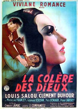 La colère des dieux - French Movie Poster (thumbnail)
