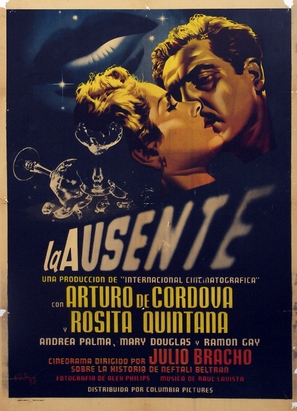 La ausente - Mexican Movie Poster (thumbnail)