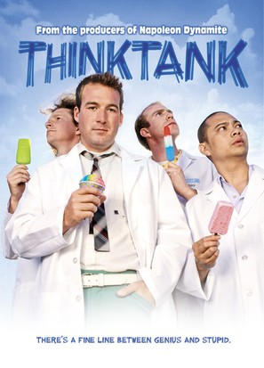 Think Tank - DVD movie cover (thumbnail)