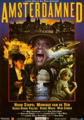 Amsterdamned (1988) Dutch movie poster