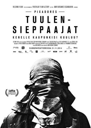 Pixadores - Finnish Movie Poster (thumbnail)
