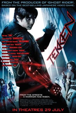 Tekken - Singaporean Movie Poster (thumbnail)