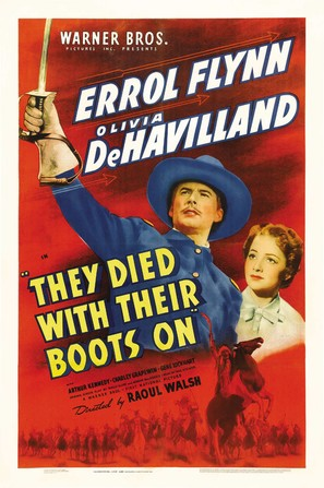 They Died with Their Boots On - Movie Poster (thumbnail)