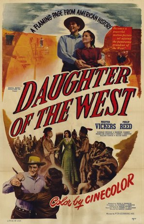 Daughter of the West - Movie Poster (thumbnail)