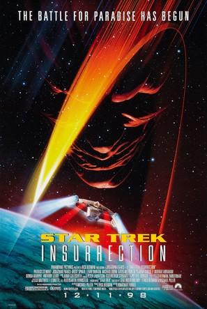 Star Trek: Insurrection - Movie Poster (thumbnail)
