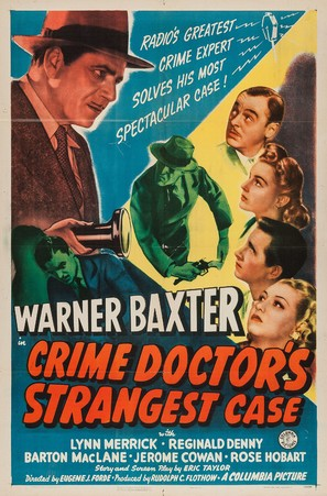 Crime Doctor's Strangest Case