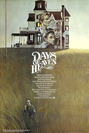 Days of Heaven - British Movie Poster (thumbnail)