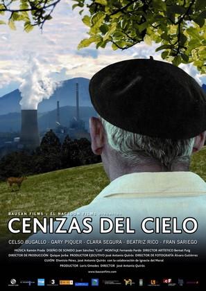 Cenizas del cielo - Spanish Movie Poster (thumbnail)