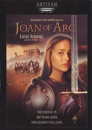 Joan of Arc - DVD cover (thumbnail)