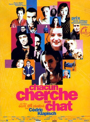 Chacun cherche son chat - French Movie Poster (thumbnail)