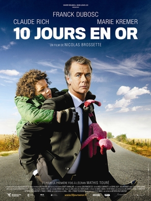 10 jours en or - French Movie Poster (thumbnail)