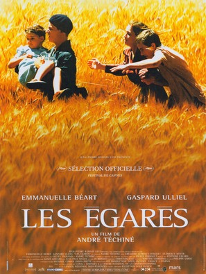 Les égarés - French Movie Poster (thumbnail)