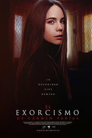 El exorcismo de Carmen Farías - Mexican Movie Poster (thumbnail)
