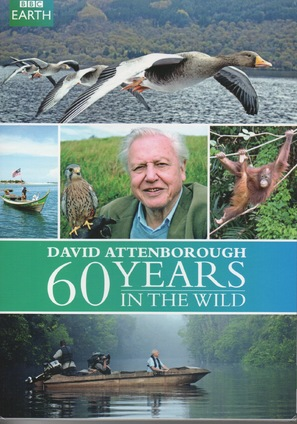 """Attenborough: 60 Years in the Wild"" - DVD cover (thumbnail)"
