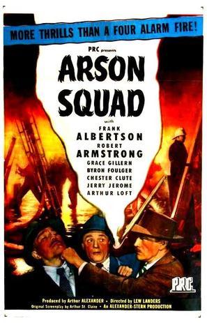 Arson Squad - Movie Poster (thumbnail)