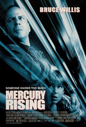 Mercury Rising - Movie Poster (thumbnail)