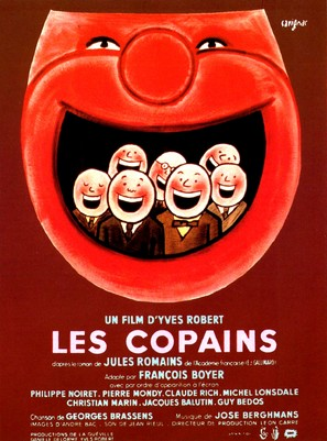 Copains, Les - French Movie Poster (thumbnail)