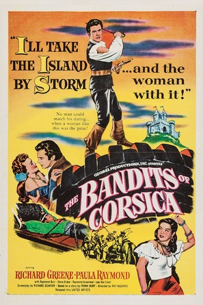 The Bandits of Corsica - Movie Poster (thumbnail)