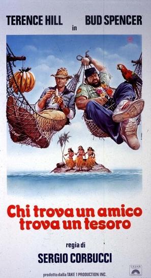 Chi trova un amico trova un tesoro - Italian Movie Poster (thumbnail)
